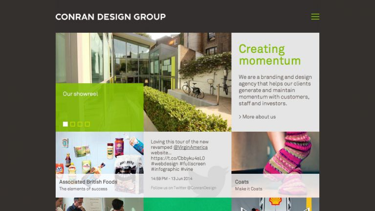 Conran Design Group Website