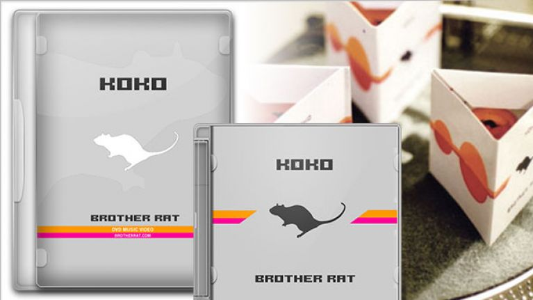 Koko brother rat music video DVD and CD covers